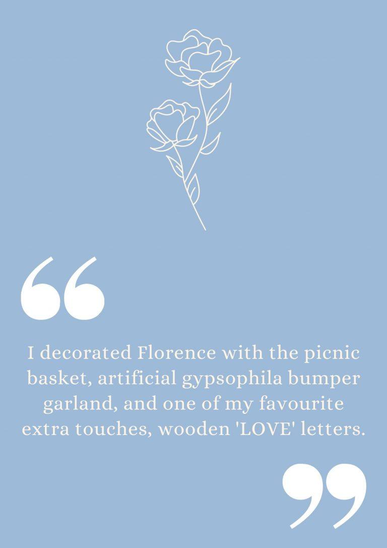 Classic Fiat 500 York wedding quote